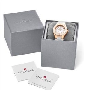 Brand new Womens Michele strap watch